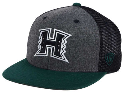 Hawaii Warriors Top of the World NCAA Mammoth Snapback Cap