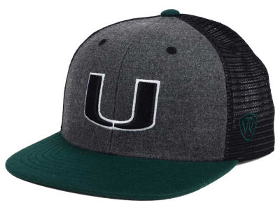 Miami Hurricanes Top of the World NCAA Mammoth Snapback Cap