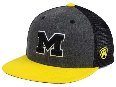 Michigan Wolverines Top of the World NCAA Mammoth Snapback Cap