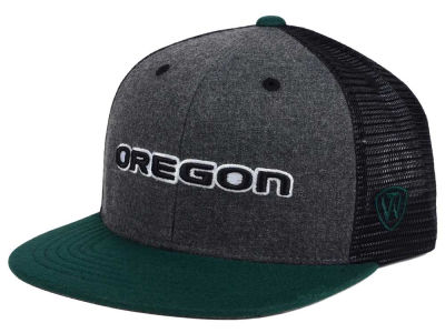 Oregon Ducks Top of the World NCAA Mammoth Snapback Cap