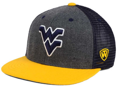 West Virginia Mountaineers Top of the World NCAA Mammoth Snapback Cap