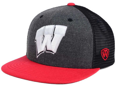 Wisconsin Badgers Top of the World NCAA Mammoth Snapback Cap