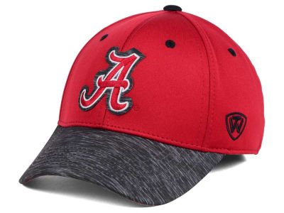 Alabama Crimson Tide Top of the World NCAA Fable Stretch Cap