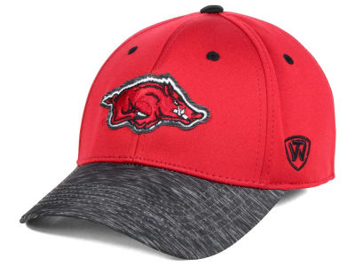 Arkansas Razorbacks Top of the World NCAA Fable Stretch Cap