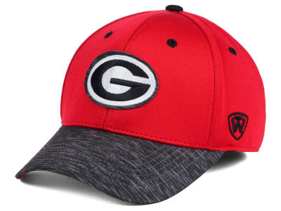 Georgia Bulldogs Top of the World NCAA Fable Stretch Cap