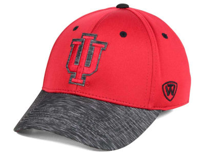 Indiana Hoosiers Top of the World NCAA Fable Stretch Cap