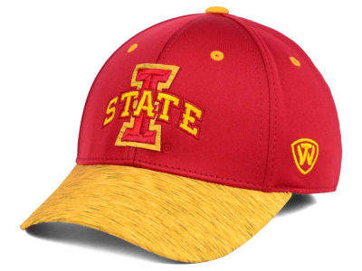 Iowa State Cyclones Top of the World NCAA Fable Stretch Cap