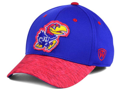 Kansas Jayhawks Top of the World NCAA Fable Stretch Cap