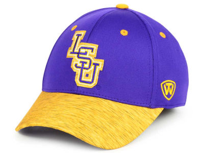 LSU Tigers Top of the World NCAA Fable Stretch Cap
