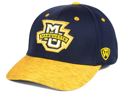 Marquette Golden Eagles Top of the World NCAA Fable Stretch Cap