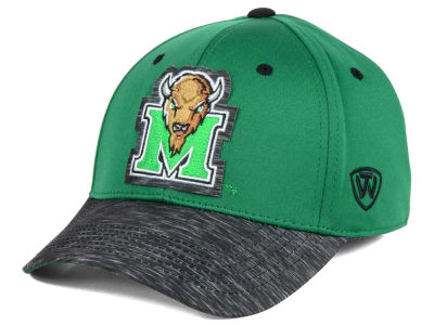 Marshall Thundering Herd Top of the World NCAA Fable Stretch Cap