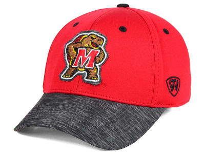Maryland Terrapins Top of the World NCAA Fable Stretch Cap