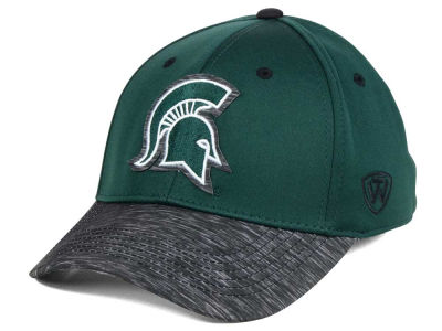 Michigan State Spartans Top of the World NCAA Fable Stretch Cap