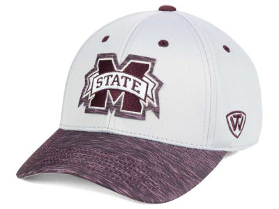 Mississippi State Bulldogs Top of the World NCAA Fable Stretch Cap