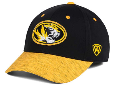 Missouri Tigers Top of the World NCAA Fable Stretch Cap