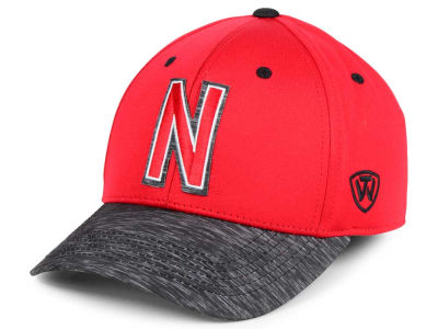 Nebraska Cornhuskers Top of the World NCAA Fable Stretch Cap