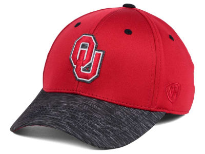 Oklahoma Sooners Top of the World NCAA Fable Stretch Cap