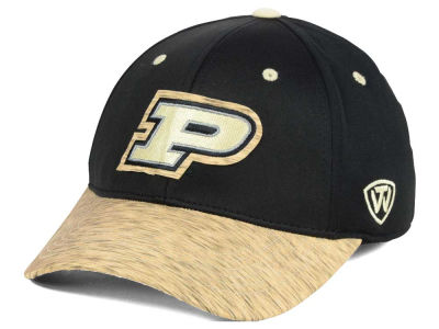 Purdue Boilermakers Top of the World NCAA Fable Stretch Cap