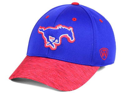 Southern Methodist Mustangs Top of the World NCAA Fable Stretch Cap