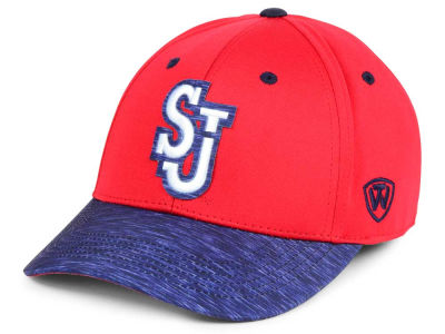 St Johns Red Storm Top of the World NCAA Fable Stretch Cap