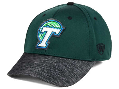Tulane Green Wave Top of the World NCAA Fable Stretch Cap
