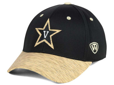 Vanderbilt Commodores Top of the World NCAA Fable Stretch Cap