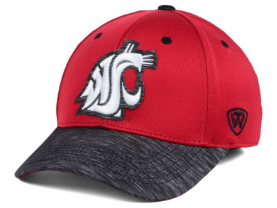 Washington State Cougars Top of the World NCAA Fable Stretch Cap