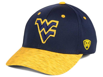 West Virginia Mountaineers Top of the World NCAA Fable Stretch Cap