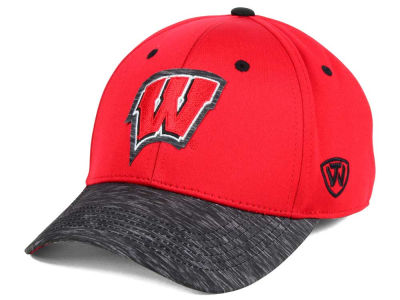 Wisconsin Badgers Top of the World NCAA Fable Stretch Cap