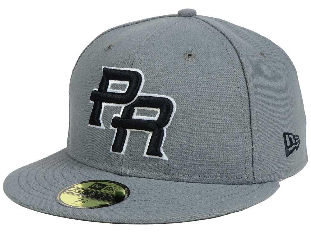 4ba71566da1 Puerto Rico New Era World Baseball Classic 2017 Gray Black White 59FIFTY Cap