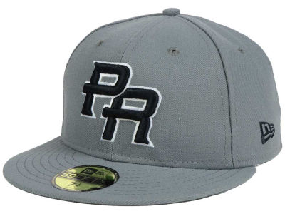 Puerto Rico New Era World Baseball Classic 2017 Gray Black White 59FIFTY Cap