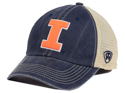 Illinois Fighting Illini Top of the World NCAA Youth Wickler Mesh Cap