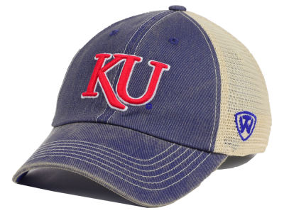 Kansas Jayhawks Top of the World NCAA Youth Wickler Mesh Cap