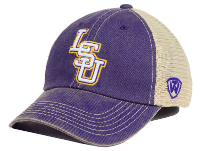 LSU Tigers Top of the World NCAA Youth Wickler Mesh Cap