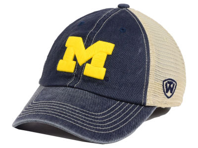 Michigan Wolverines Top of the World NCAA Youth Wickler Mesh Cap
