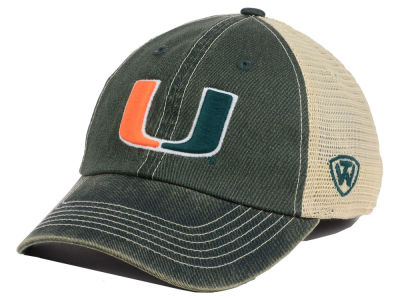 Miami Hurricanes Top of the World NCAA Youth Wickler Mesh Cap