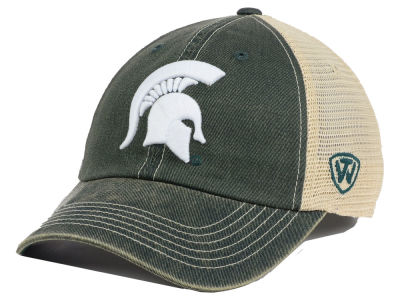 Michigan State Spartans Top of the World NCAA Youth Wickler Mesh Cap
