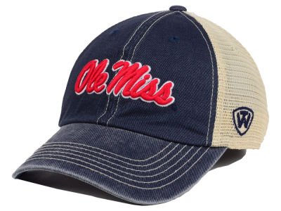 Ole Miss Rebels Top of the World NCAA Youth Wickler Mesh Cap
