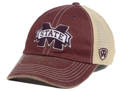 Mississippi State Bulldogs Top of the World NCAA Youth Wickler Mesh Cap