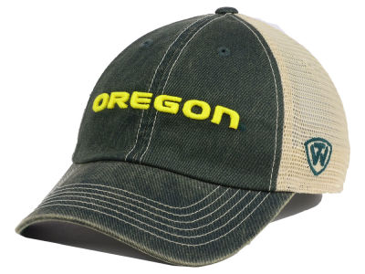 Oregon Ducks Top of the World NCAA Youth Wickler Mesh Cap