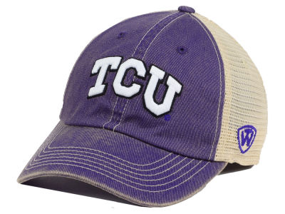 Texas Christian Horned Frogs Top of the World NCAA Youth Wickler Mesh Cap