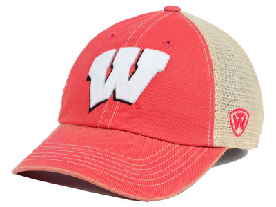 Wisconsin Badgers Top of the World NCAA Youth Wickler Mesh Cap