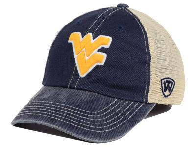 West Virginia Mountaineers Top of the World NCAA Youth Wickler Mesh Cap