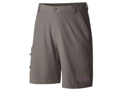 LSU Tigers Columbia NCAA Men's Terminal Tackle Shorts