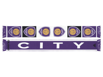Orlando City SC Jacquard Repeat Scarf