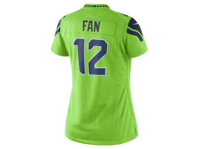 Seattle Seahawks NFL Women's Color Rush Limited Jersey