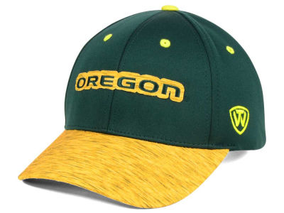 Oregon Ducks Top of the World NCAA Fable Stretch Cap