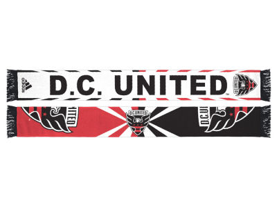 DC United Jacquard Wordmark Scarf