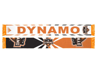 Houston Dynamo adidas Jacquard Wordmark Scarf