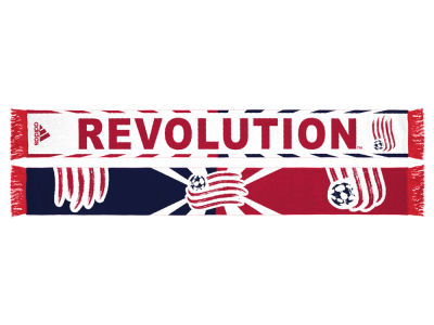 New England Revolution Jacquard Wordmark Scarf